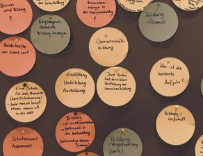 Making of bildungsART 19 - Bildung als Berührung des Selbst