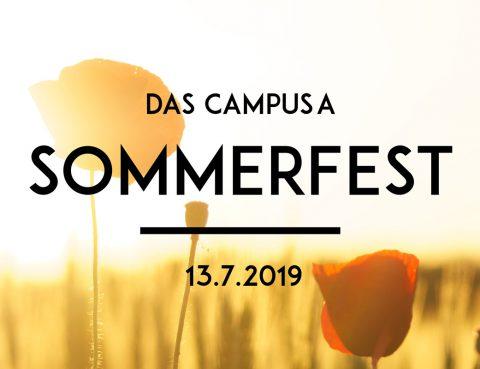 campusA-Sommerfest am 13. Juli !